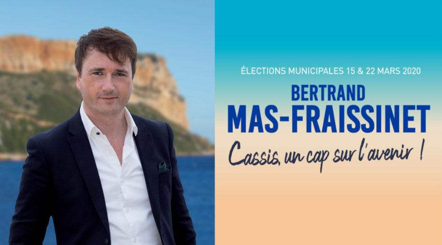Cassis un cap sur l'avenir Bertrand Mas-Fraissinet municipales 2020