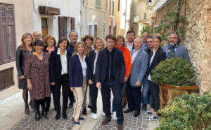 Equipe candidature bertrand mas fraissinet municipales 2020 Cassis